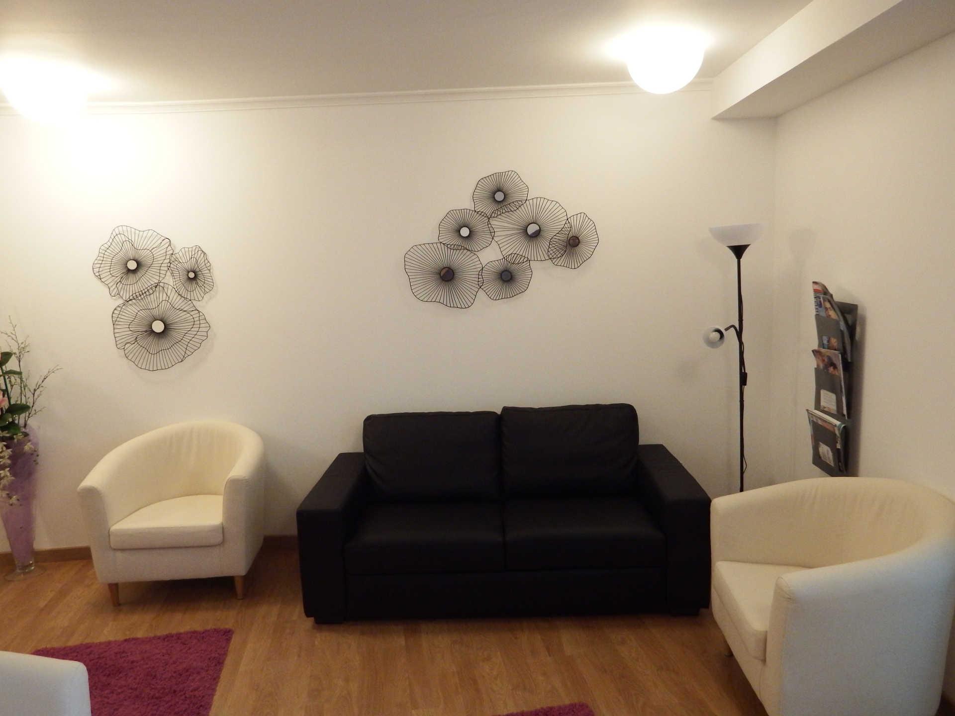 Sala de espera Clinica Psicologica Aima Santiago