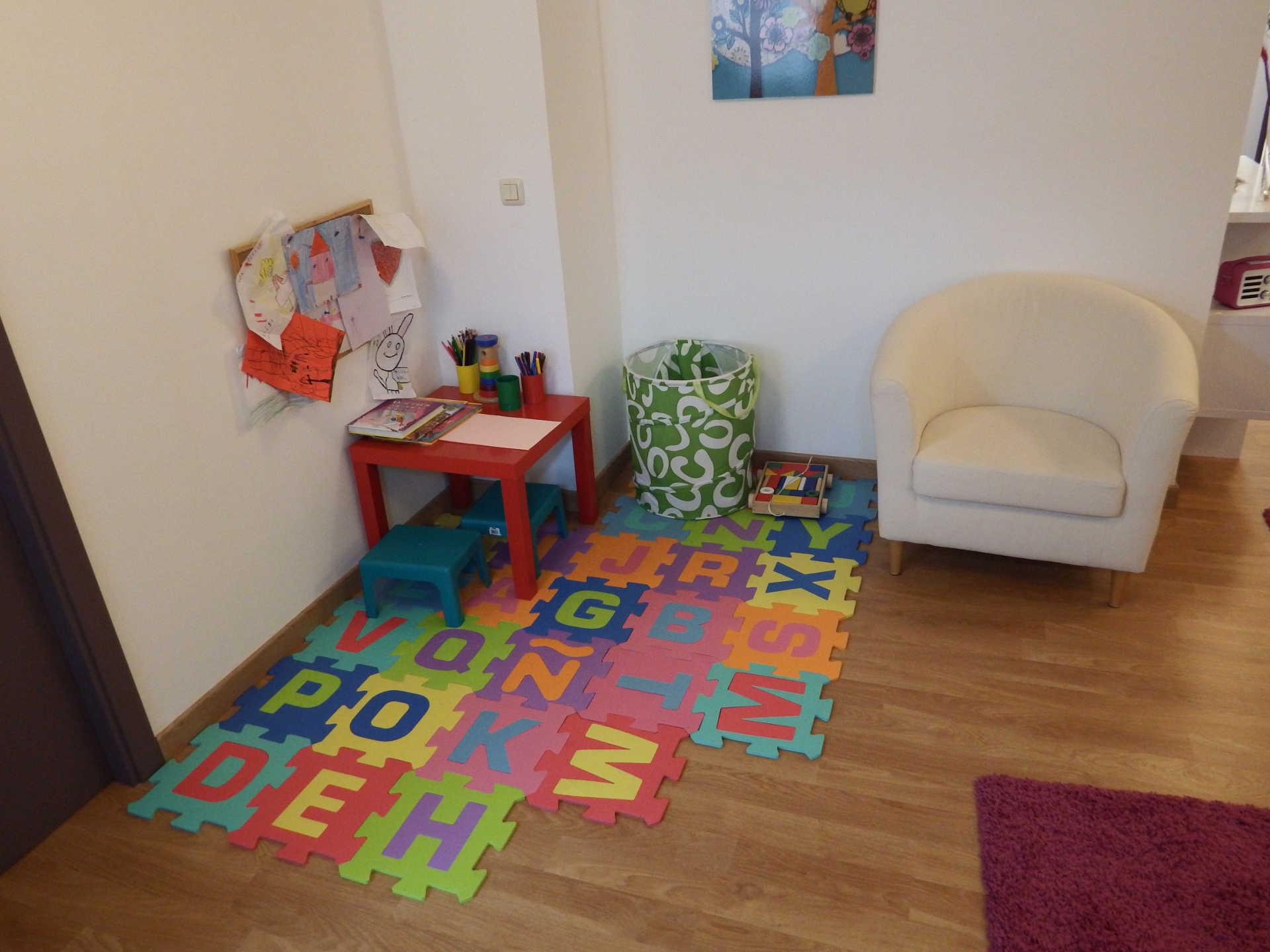 Sala para niños en Aima, psicologia clinica en santiago